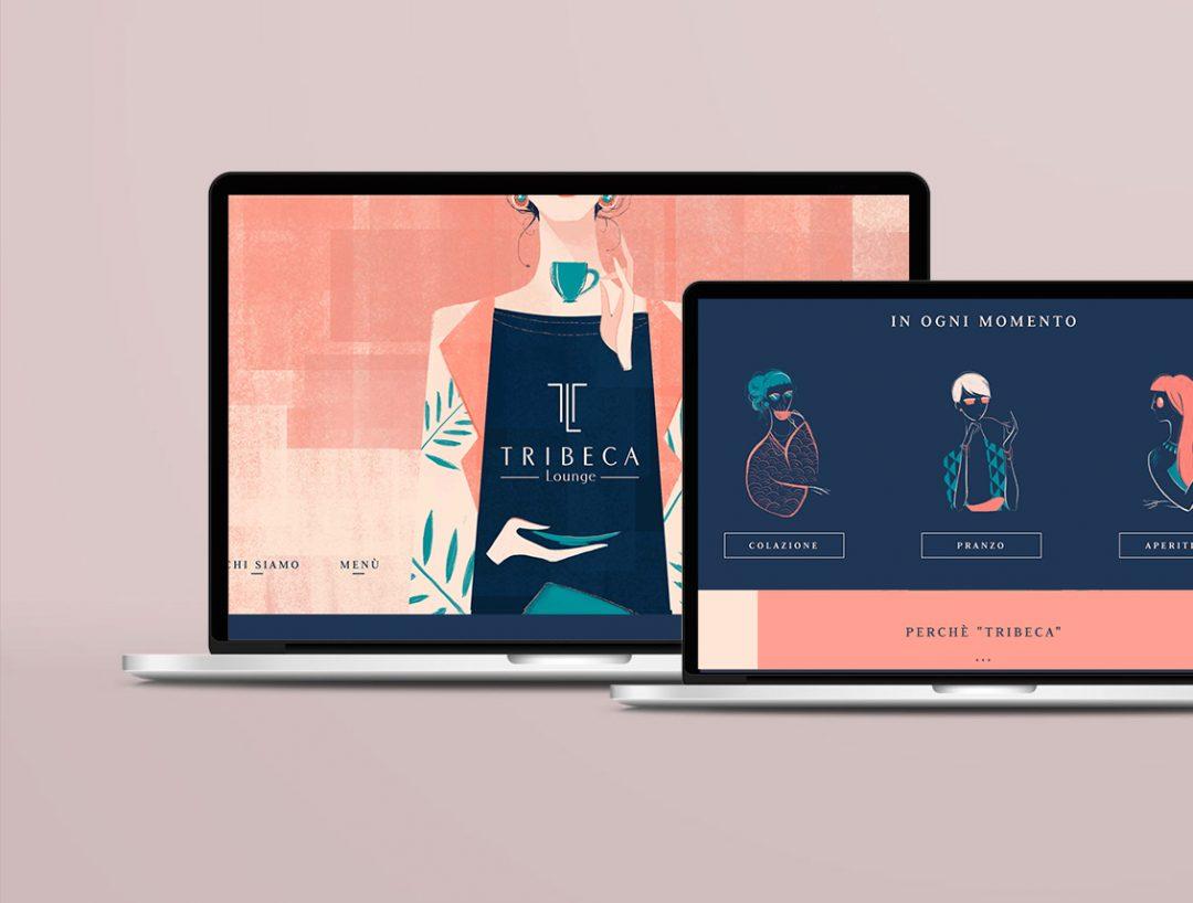 Illustrazione sito e social