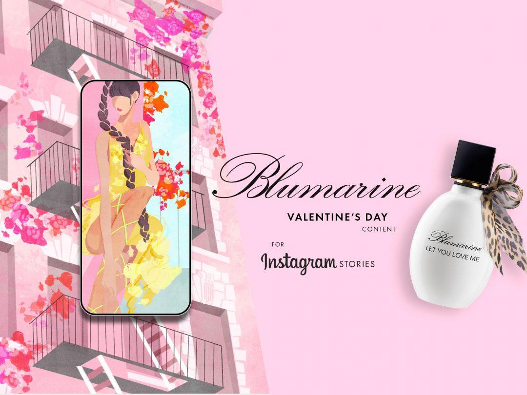 Blumarine Instagram Content
